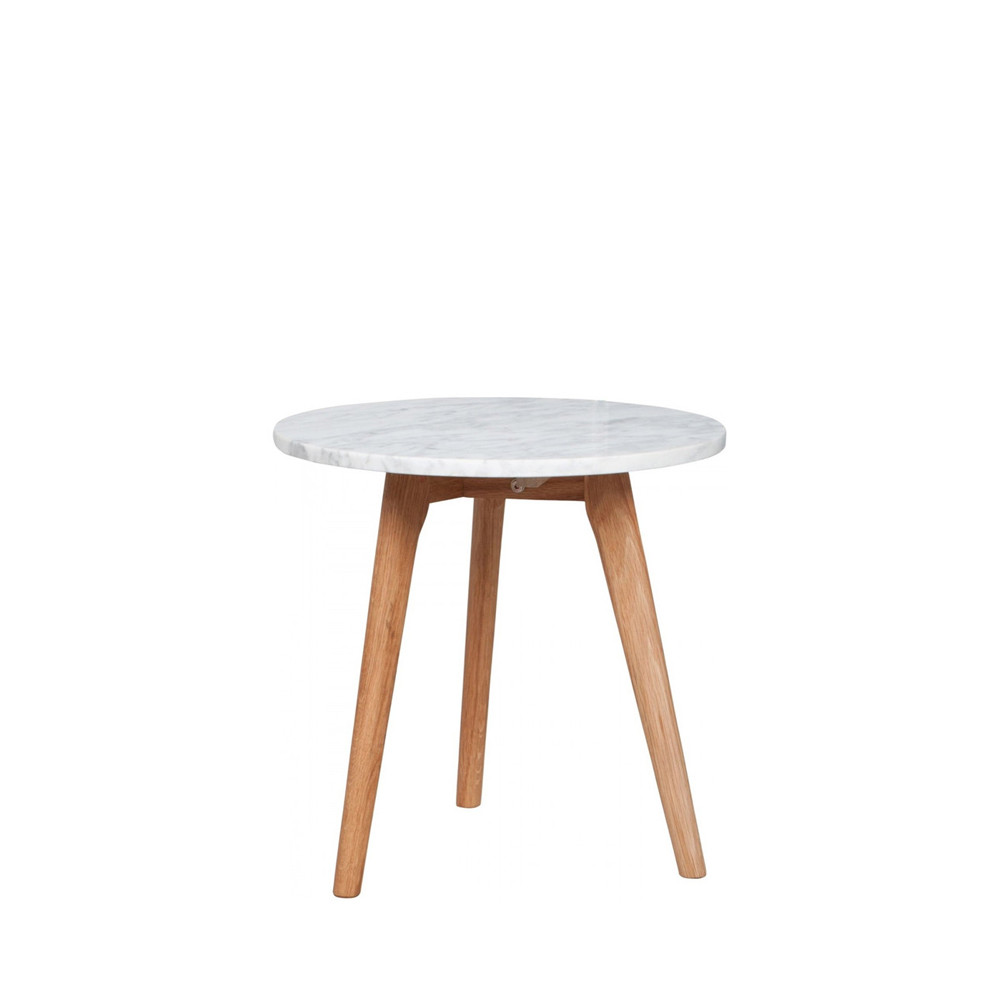 Table Ronde Basse Bois White Stone Table Basse Ronde Bois Et Marbre M
