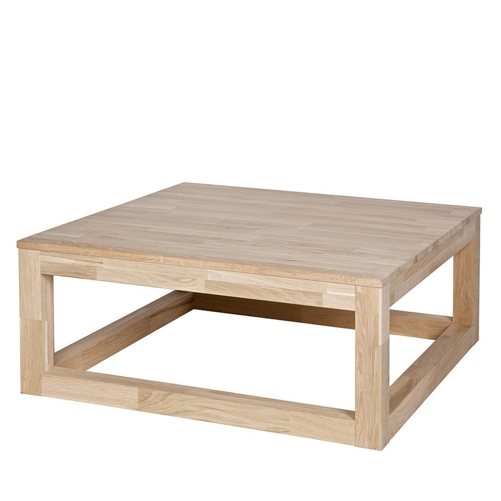 Table Basse Chene Massif Table Basse Chene