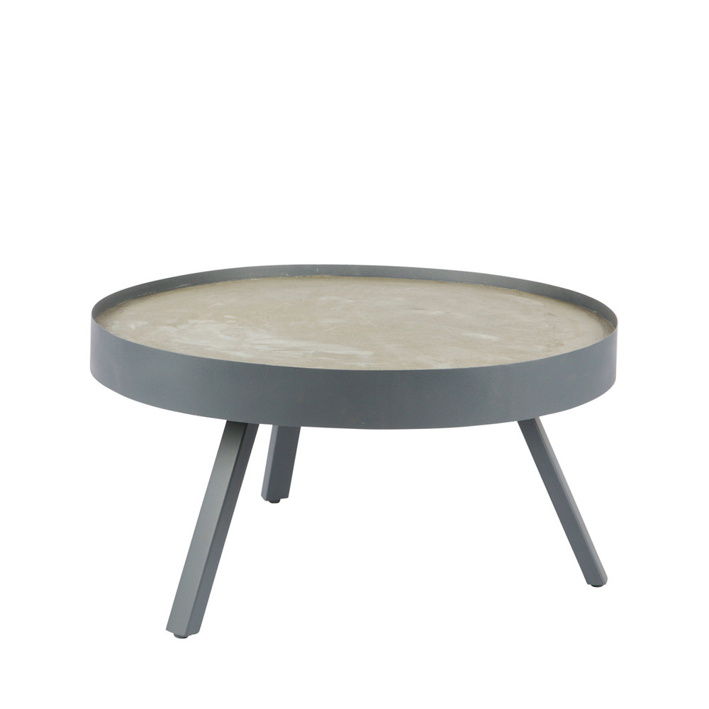 Table Basse En Beton Table Basse Béton Woood Skip