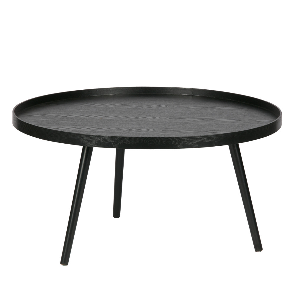 Table D Appoint Ronde Bois Xl Mesa By Drawer