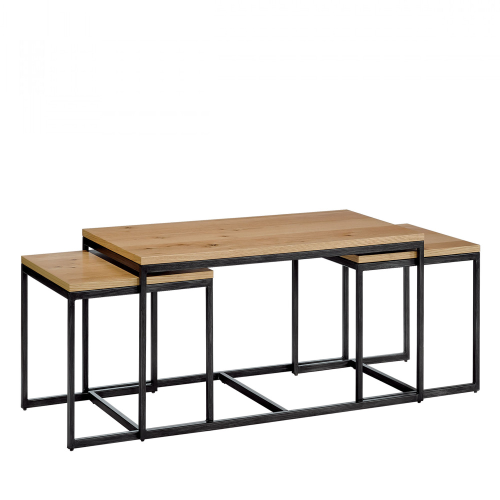 Tables Gigognes 3 Tables Basses Gigognes Drawer Temmelig