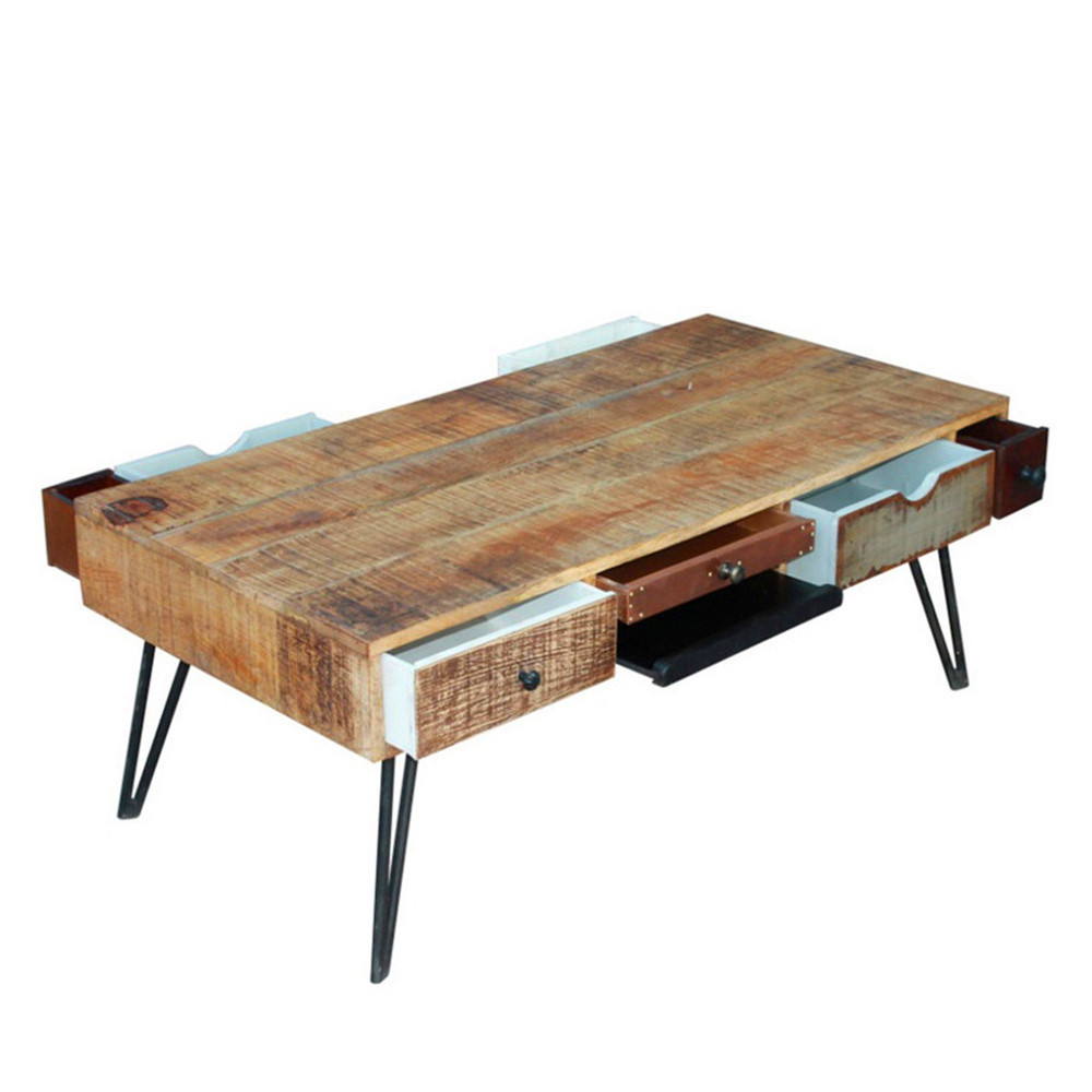 Table Basse Vintage Table Basse Vintage En Bois Fusion By Drawer