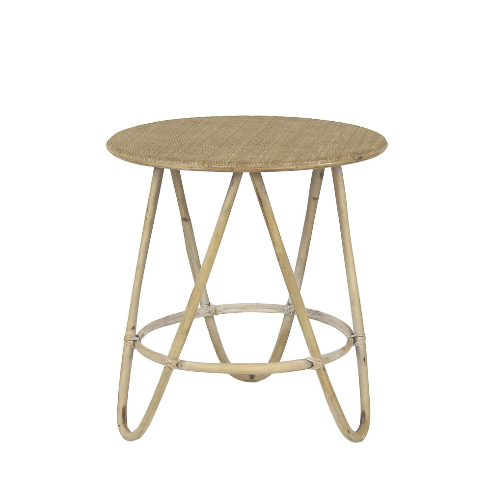 Tables De Salon En Rotin Table Basse En Rotin L Pomax Samso