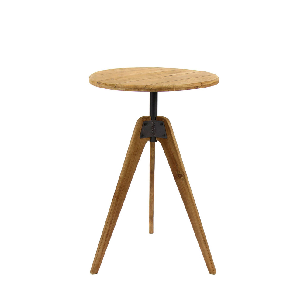 Table Arrondie Brasserie Table De Bar Ronde H92 Cm