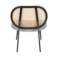 Spike Fauteuil Lounge En Cannage Drawer - Fauteuils Drawer Flexwood