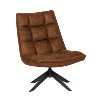 Jouke Fauteuil En Simili Capitonné Drawer - Fauteuils Drawer Flexwood