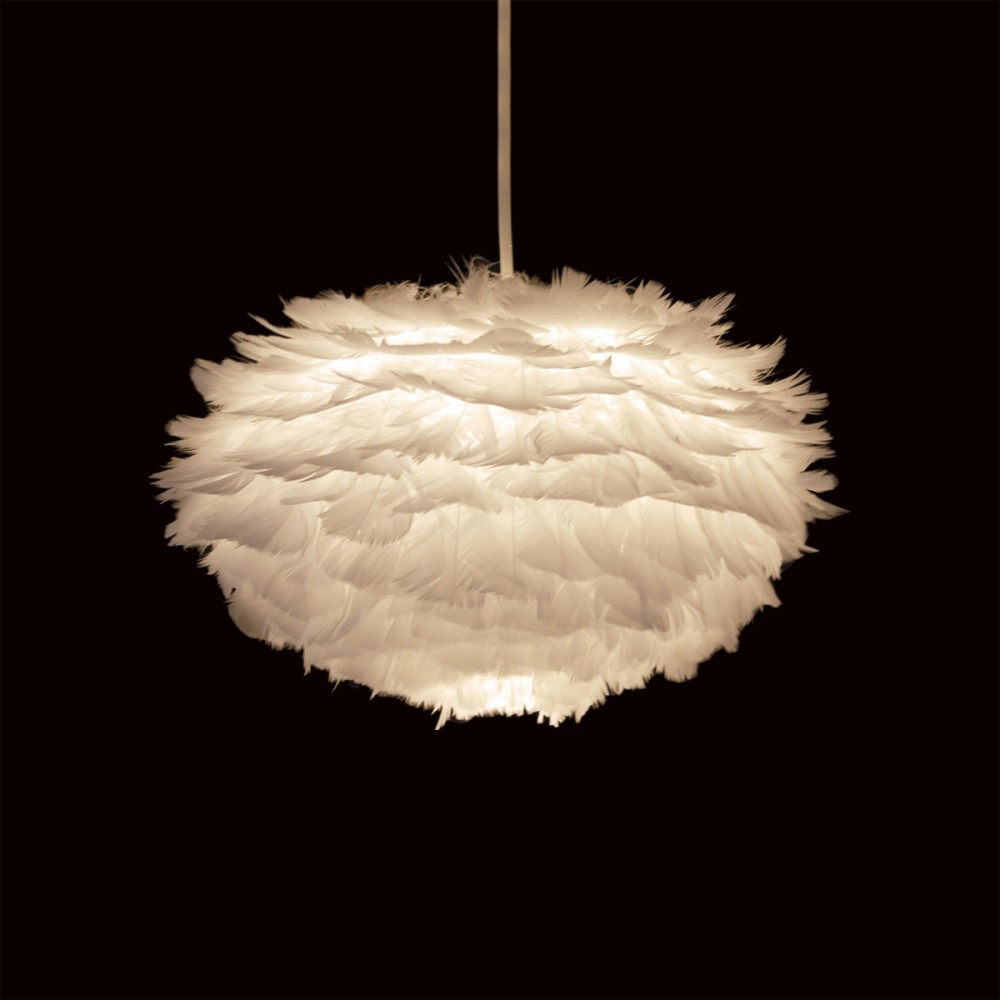 Petit Coussin Suspension Plume Lampe Design Eos - Drawer