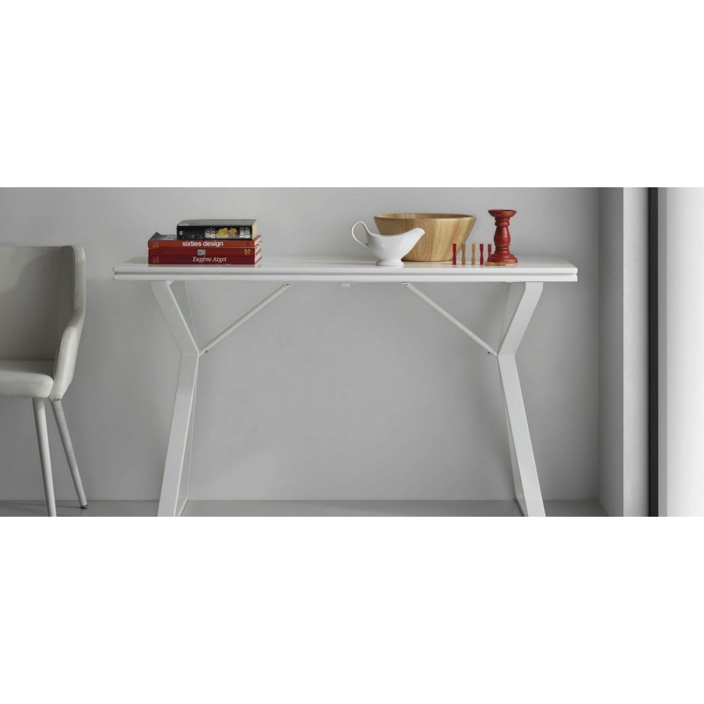 Console Convertible Table Table Console Extensible Design 45 90 Atik