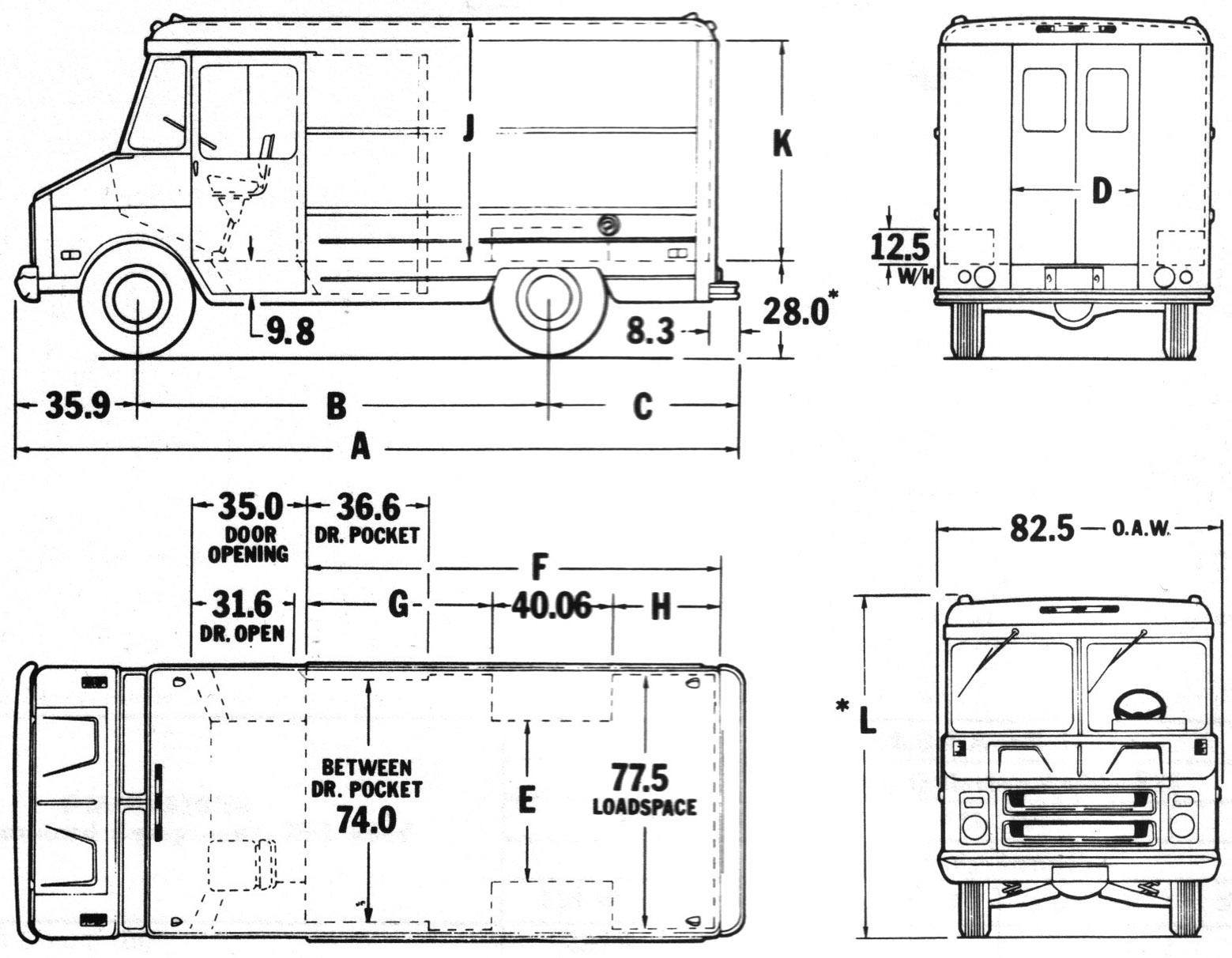 Chevrolet C30 Blueprint Download Free Blueprint For 3d