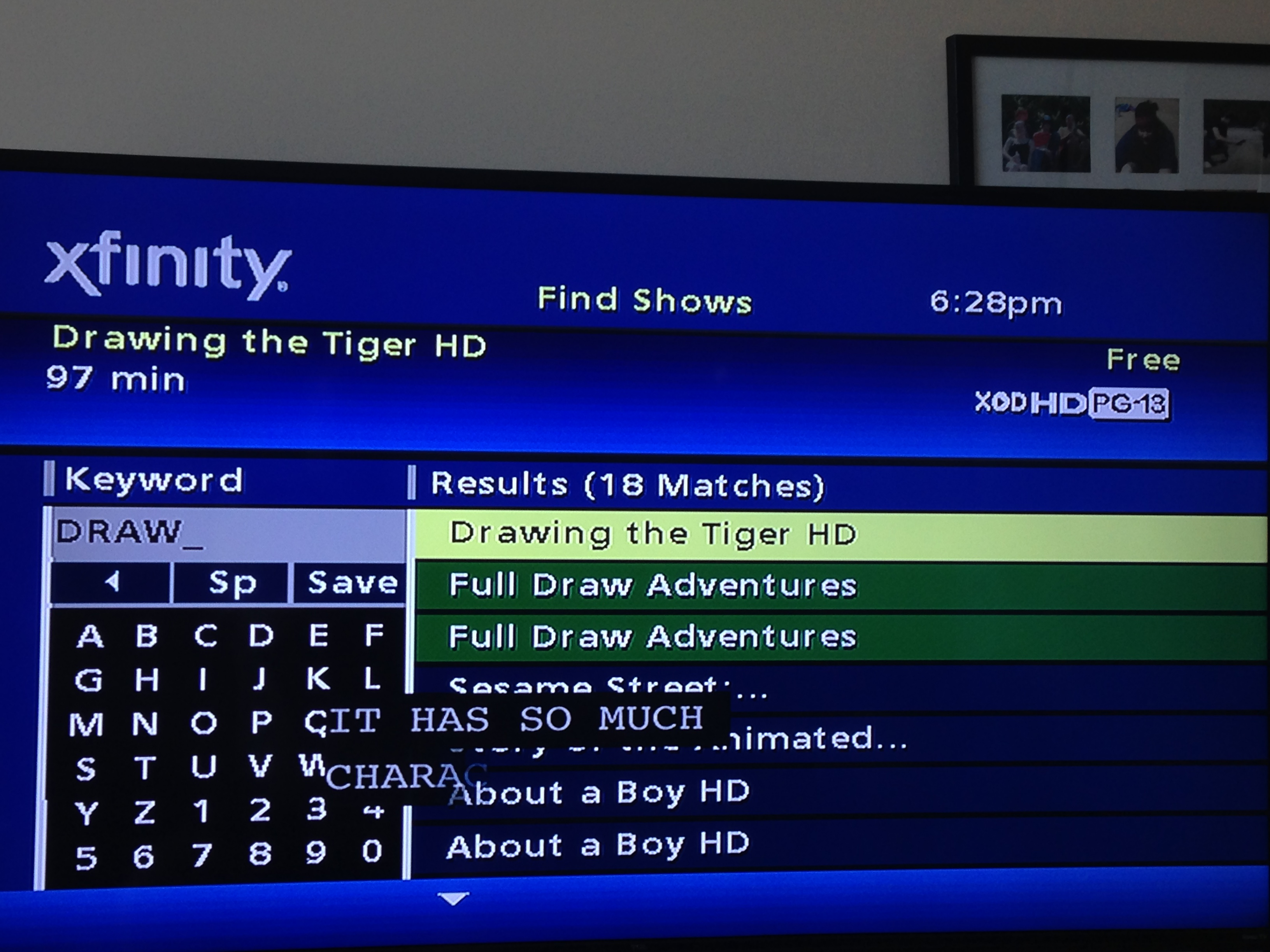 Xfinity Drawing The Tiger On Demand Comcast Xfinity Drawing The Tiger