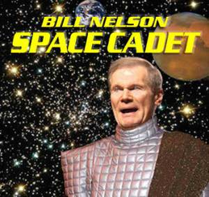 Space Cadet Bill Nelson Wants Your Vote