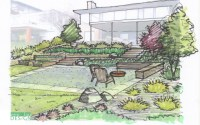 landscape design drawing | DrawnToGarden
