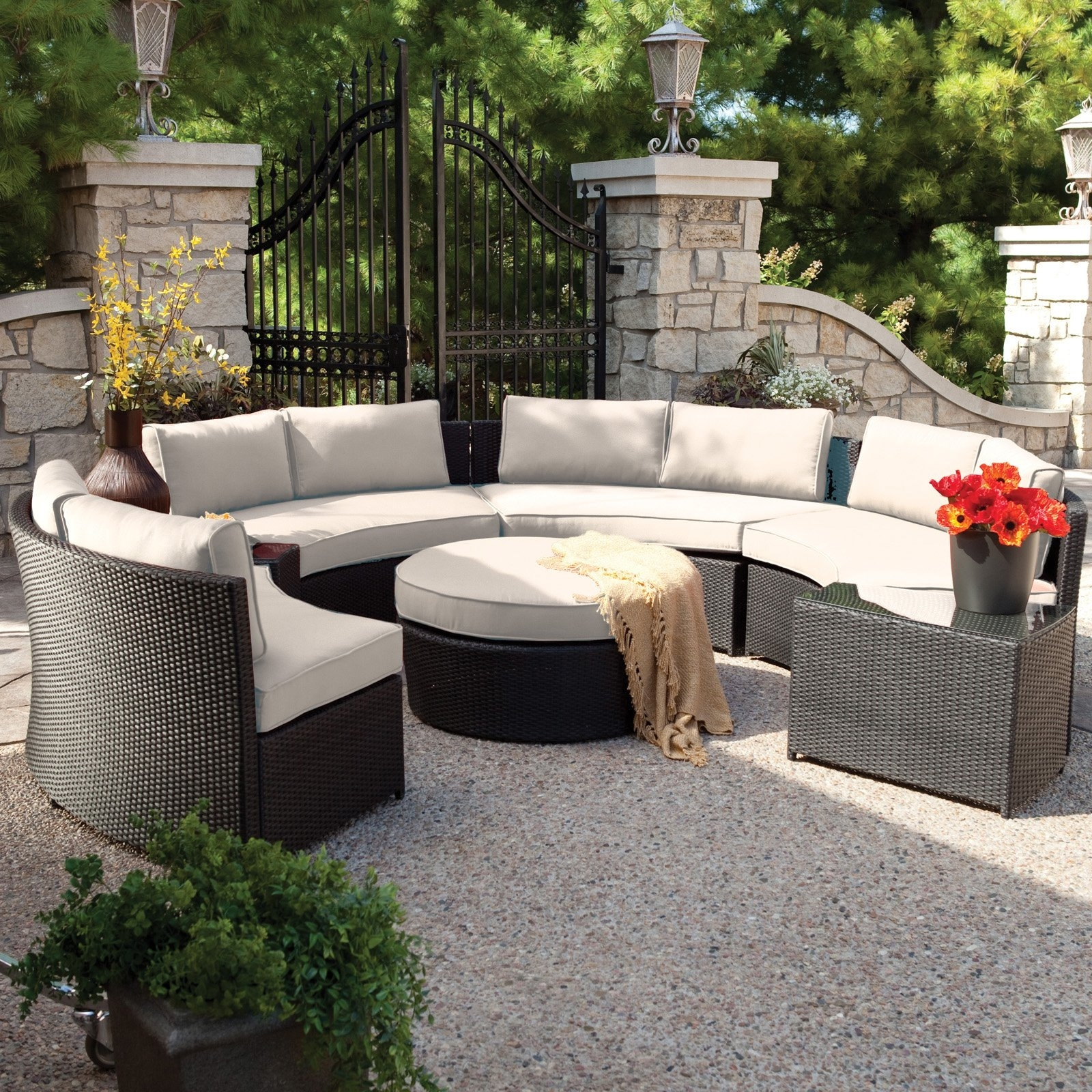 2020 Popular Outdoor Sofas And Chairs - Outdoor Wicker Furniture Clearance Nz