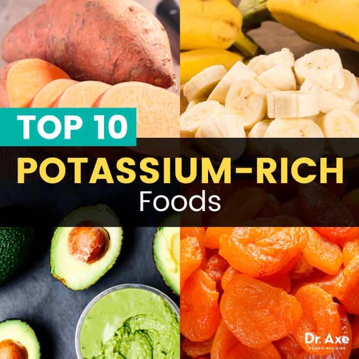 Top 10 Foods High in Potassium + Potassium Benefits - Dr Axe