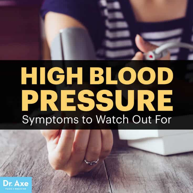 High Blood Pressure Symptoms You Can Reverse Naturally - Dr Axe