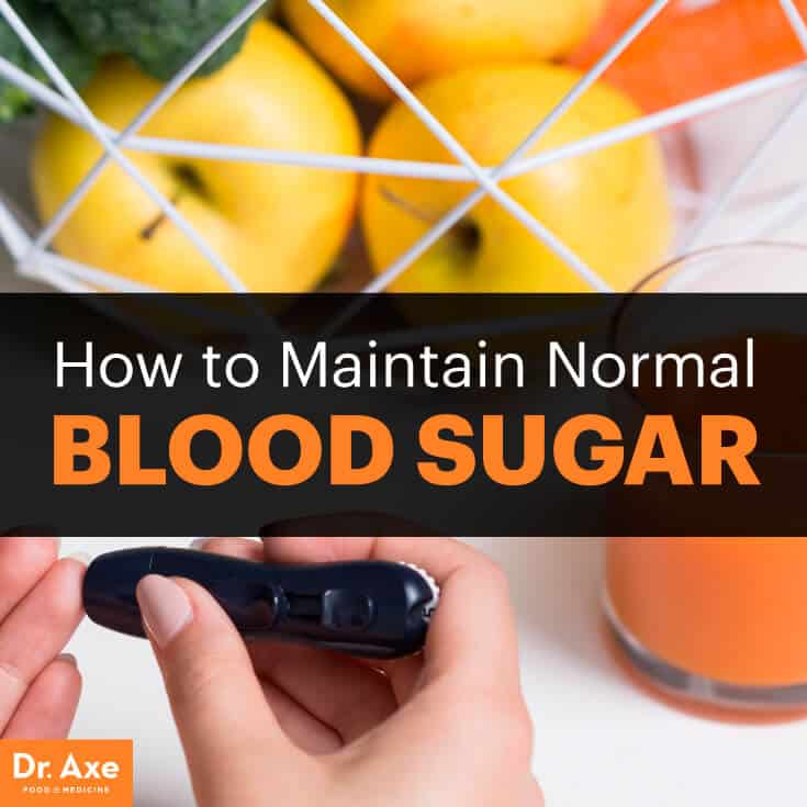 How to Maintain Normal Blood Sugar - Dr Axe