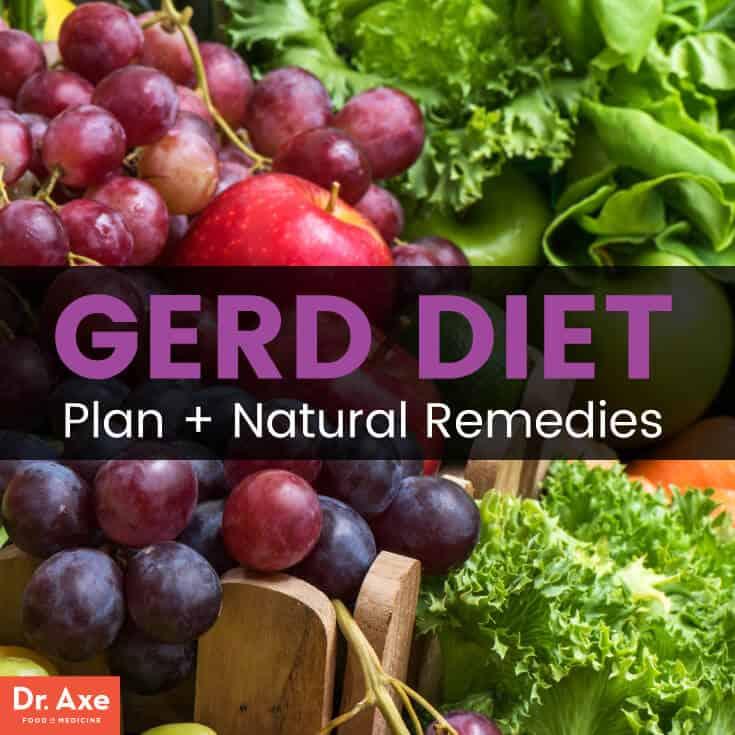 GERD Diet Plan Best  Worst Foods + Natural Remedies - Dr Axe