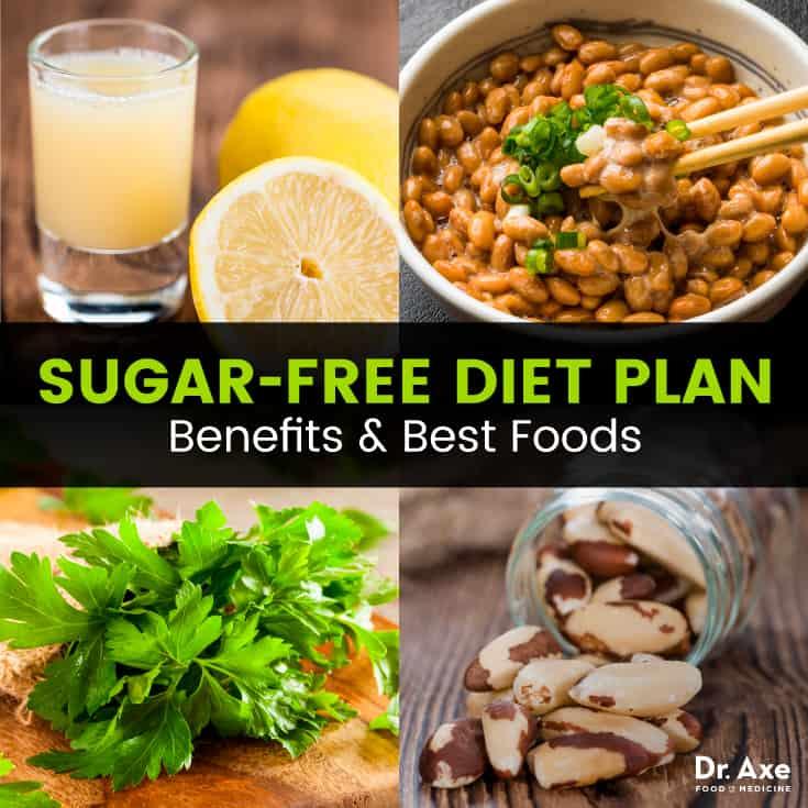 Sugar-Free Diet Plan, Benefits  Best Foods - Dr Axe