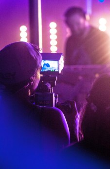 Filmación de eventos