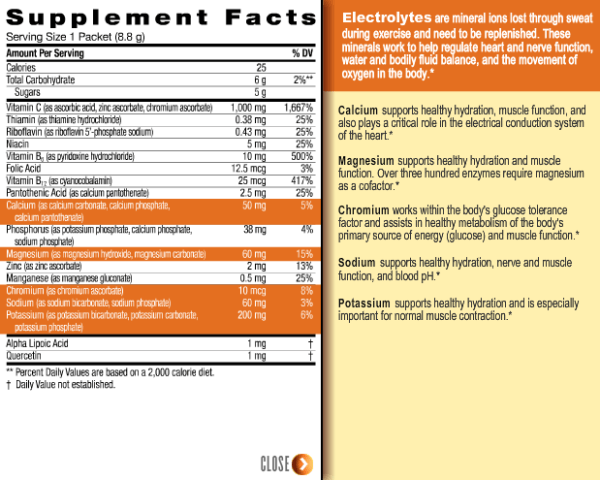 Emergen-C Ingredients