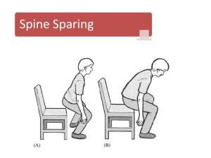 spine sparing