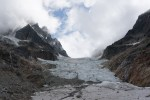 Looking up West Depot Glacier