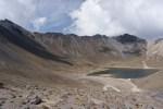 Ridge traverse and Laguna del Sol
