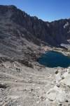Climbing Glen Pass