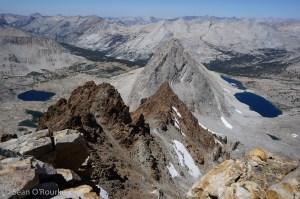 White and no-go ridge