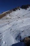 Annoying upper Quartz Creek trail