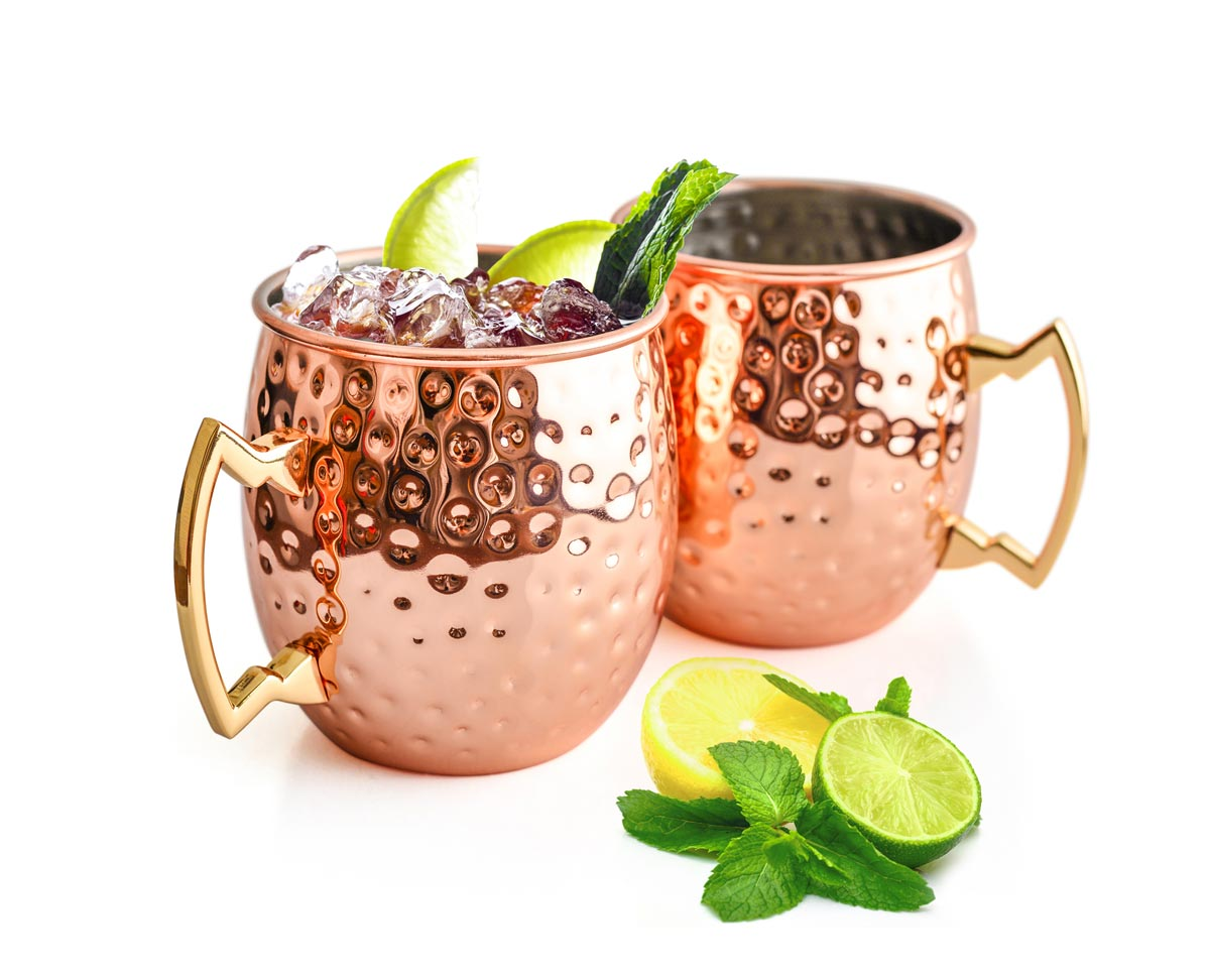 Cocktail Becher Moscow Mule Becher 500 Ml Handgemachter Kupferbecher