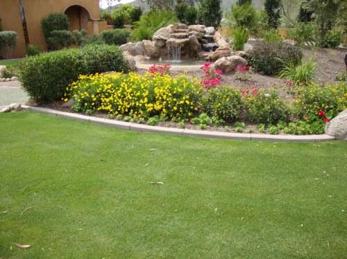 Medium Of Landscaping The Back Yard