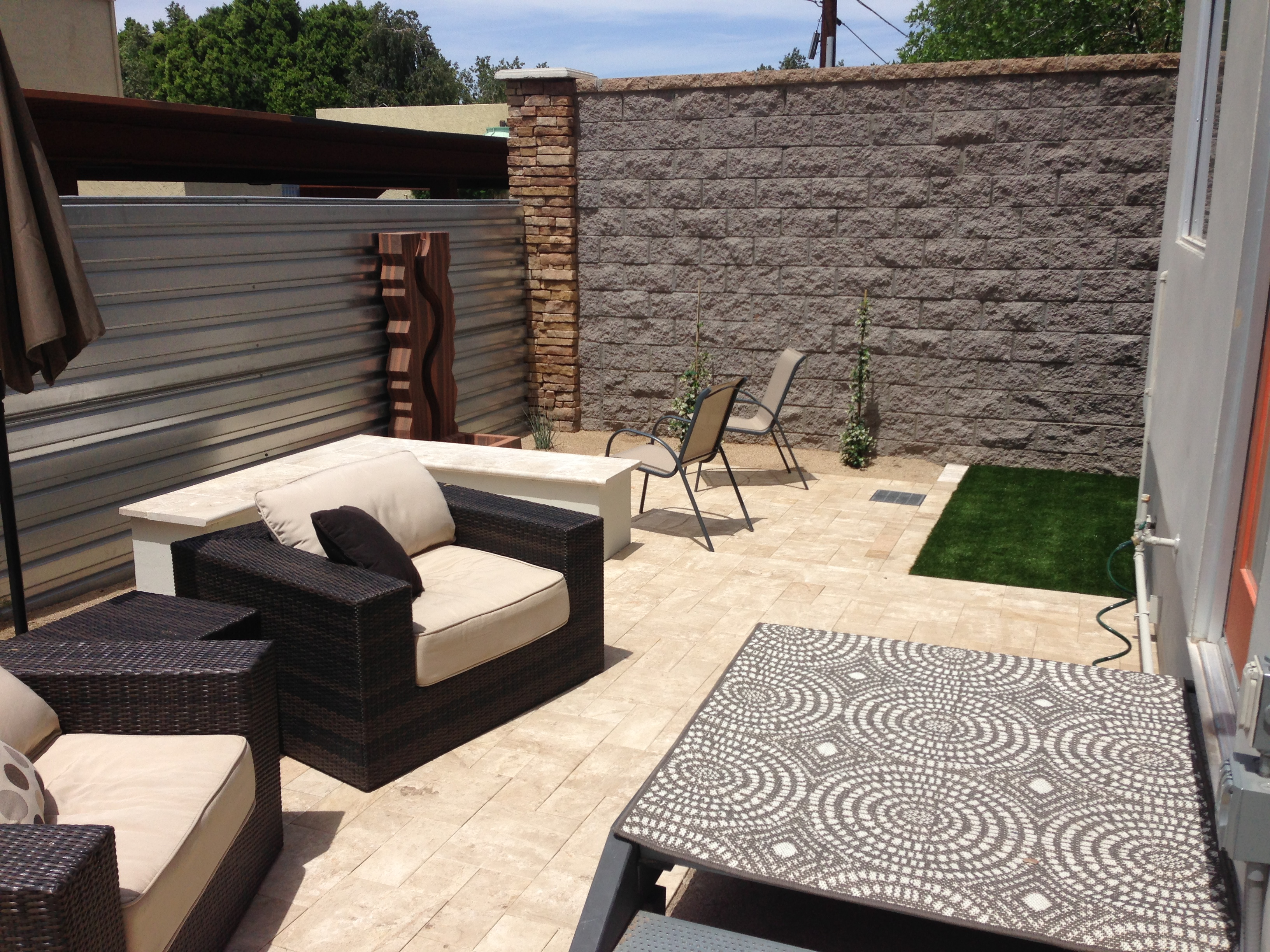 Patio Layout Designs Phoenix Backyard Patio Design
