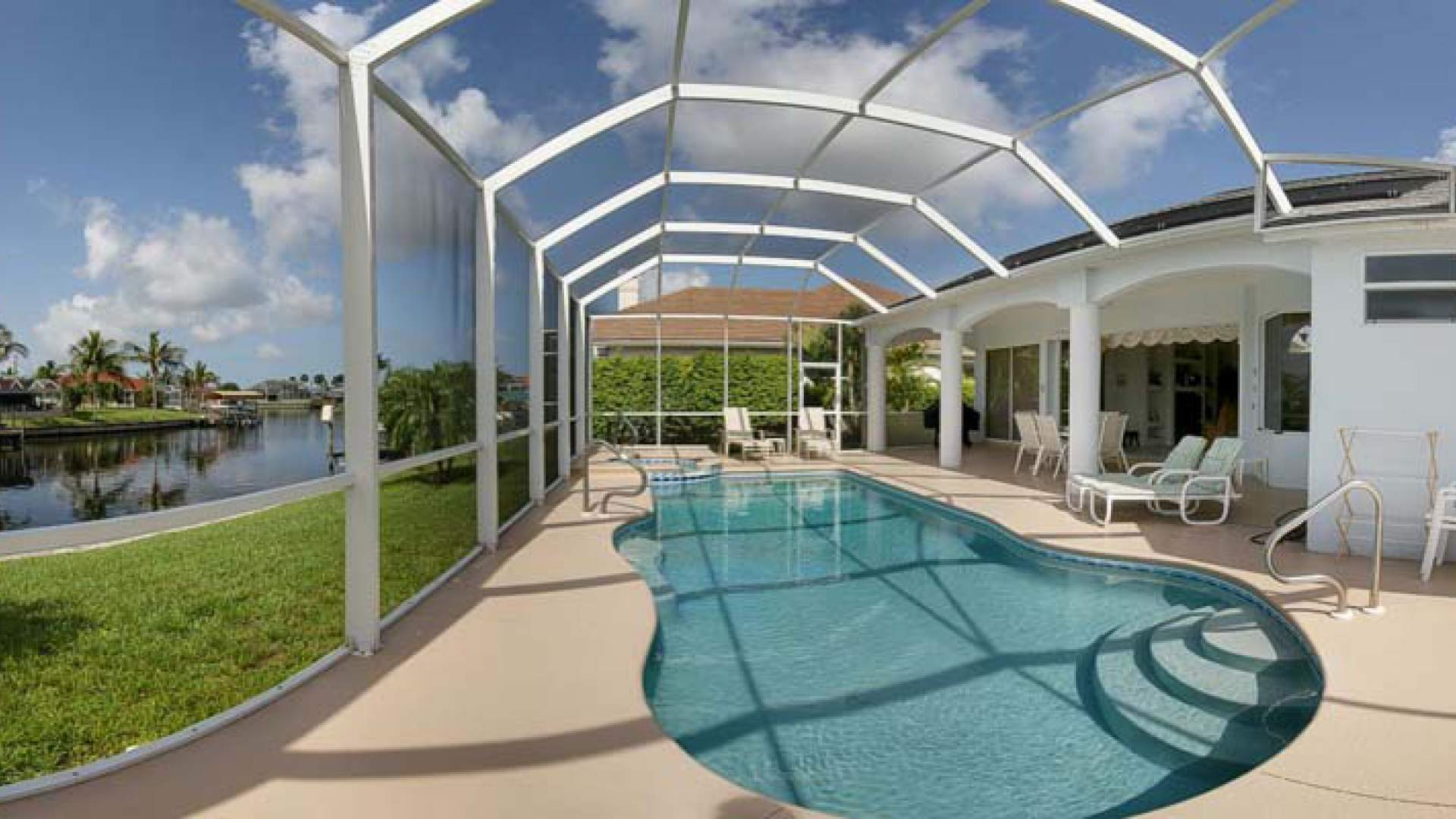 Solarheizung Pool Set Vacation Rentals With Pool In Cape Coral Dream Vacation