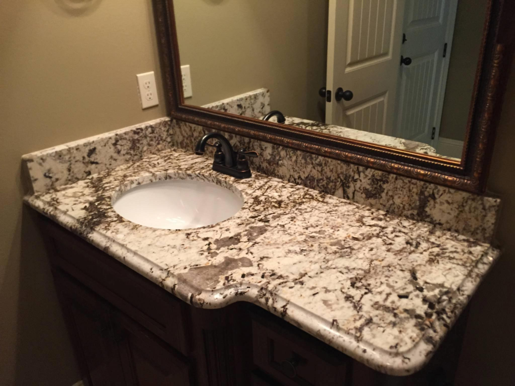 How To Install A Bathroom Countertop How To Replace Bathroom Countertop And Sink Tyres2c