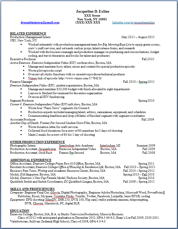 How To Put A Waitress Job On A Teaching Resume