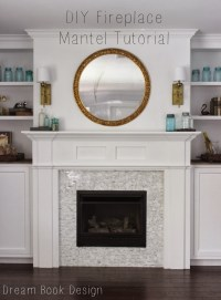 diy fireplace mantel shelf her tool belt. diy fireplace ...