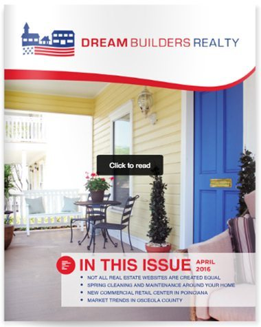 Dream Builders Realty Real Estate Newsletter Central Florida Real