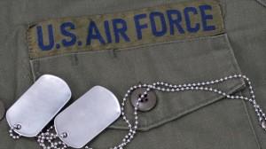 U.S.-air-force-uniform-with-blank-dog-tags-via-Shutterstock