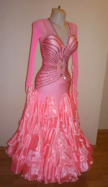 Pink Grapefruit S950 Bubblegum Pink Standard Dress For Sale - Dreamgown