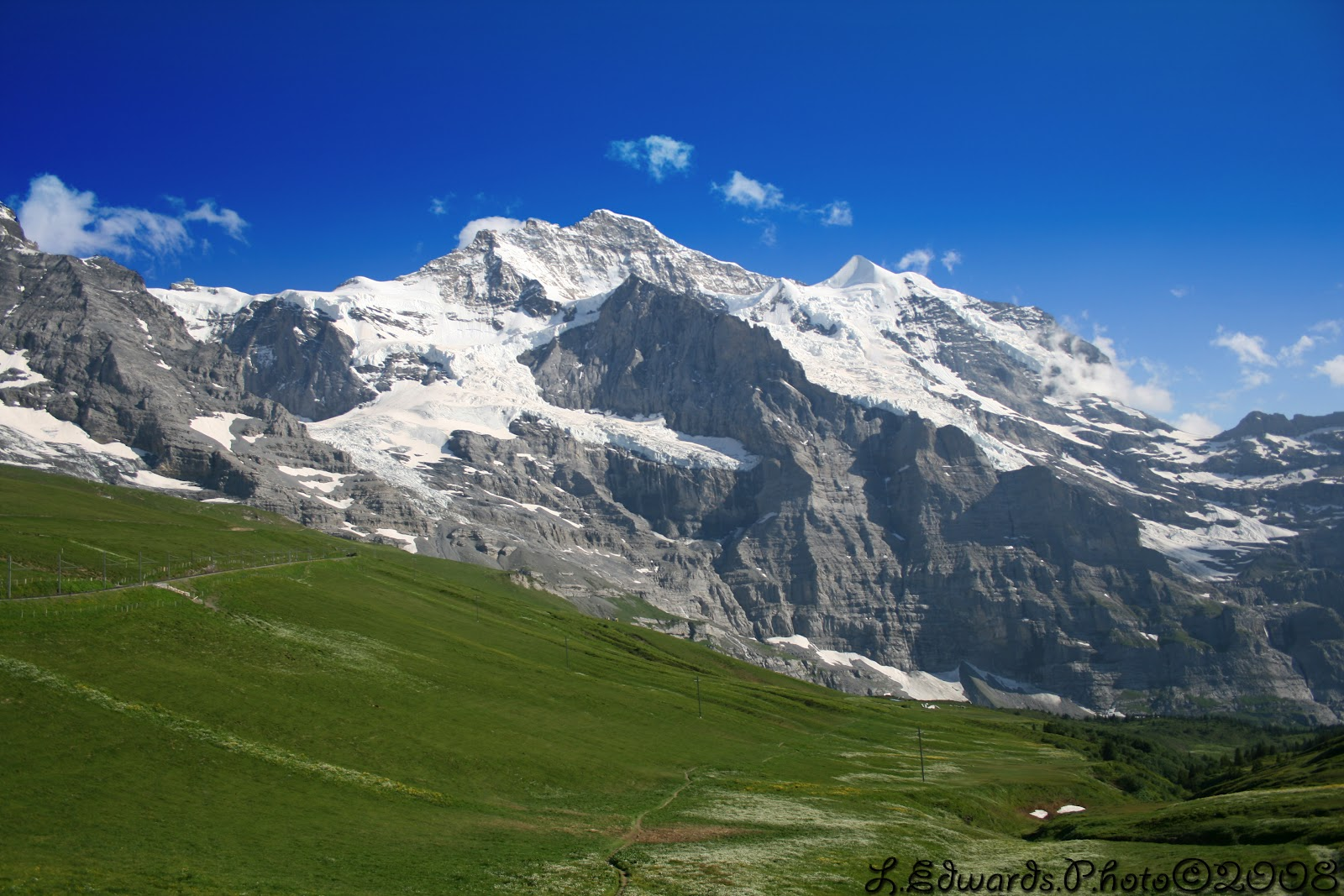 3d Tunnel Wallpaper Photo Swiss Jungfraujoch Summer Of 2008 Married With