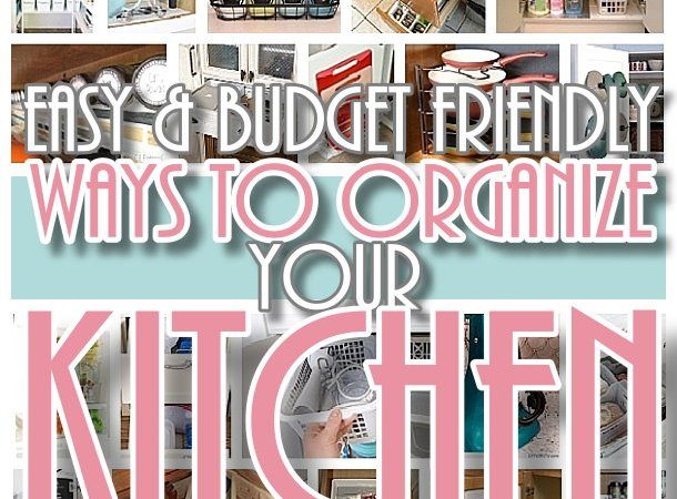 Ideas At The House Easy Budget Friendly Ways To Organize