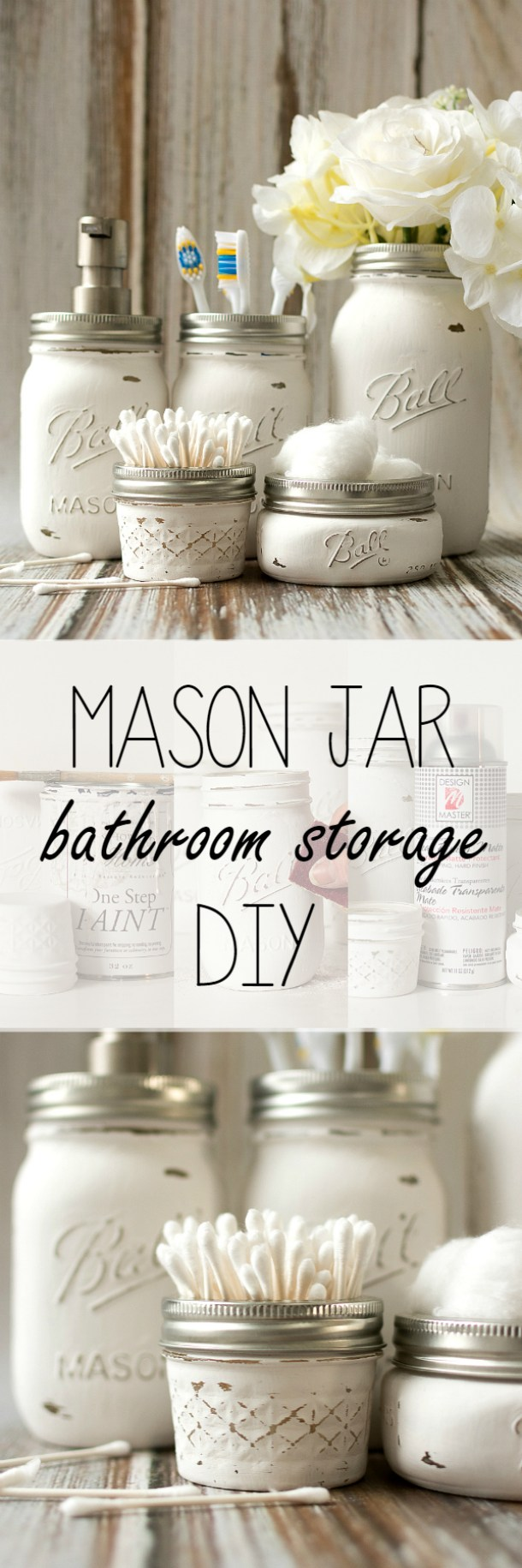 Easy inexpensive do it yourself ways to organize and for Do it yourself bathroom designs
