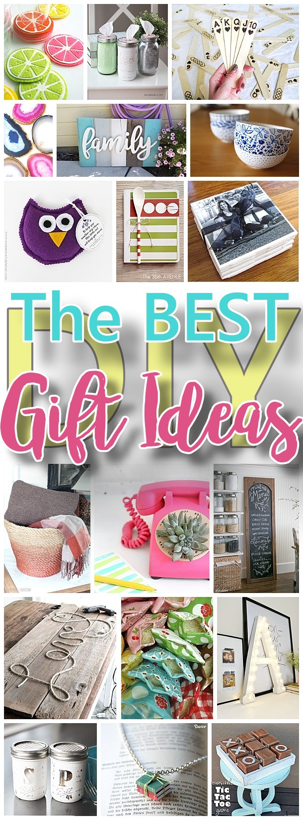The Best Do It Yourself Gifts Fun Clever And Unique Diy Craft Projects And Ideas For Christmas Birthdays Thank You Or Any Occasion Dreaming In Diy