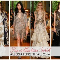 Alberta Ferretti Kicks-Off Couture Week with a Bang