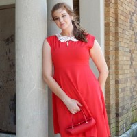 STYLE: The Perfect Red Dress by TbDress