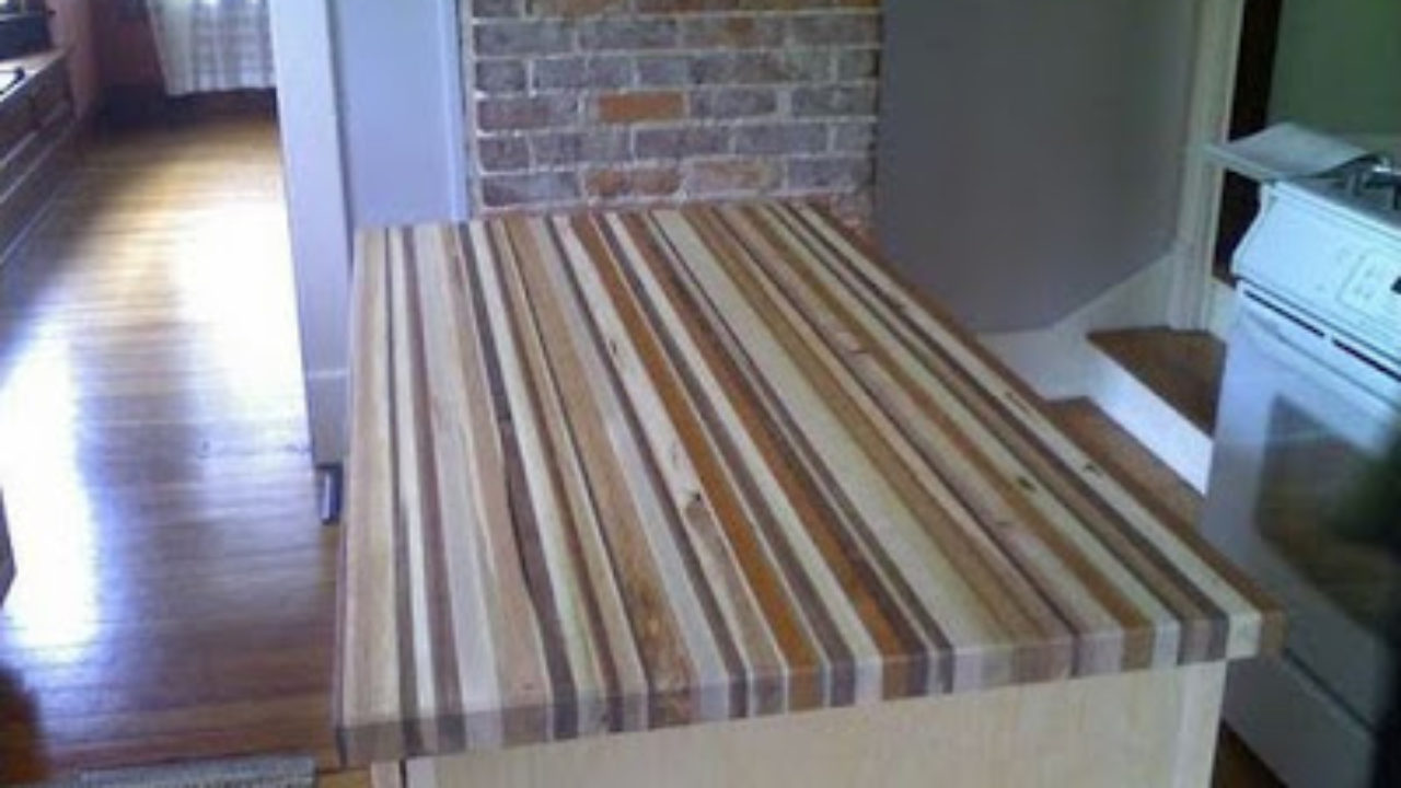 Cool Wood Projects For Guys Build Your Own Diy Wood Countertops
