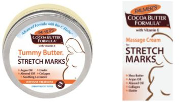 Stretch Marks Lotion Collage