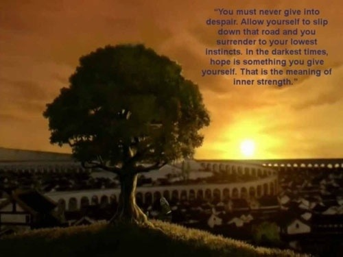 Uncle Iroh Quote Wallpaper Inner Strength Dreams Dissolve