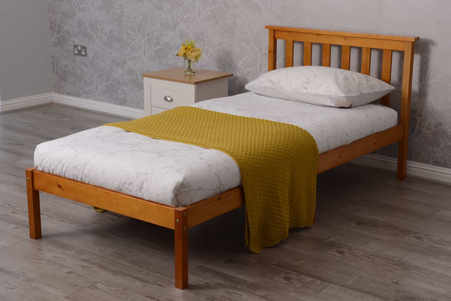 What Is The Length Of A Single Bed Single Bed Pine Wood 3ft Wooden Bed Dreams Outdoors Dreams